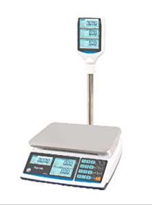 Price Computing Scale T-Scale ZTP Weighing from 0.002lbs up to 30lbs NTEP Legal for Trade Pole Display Type