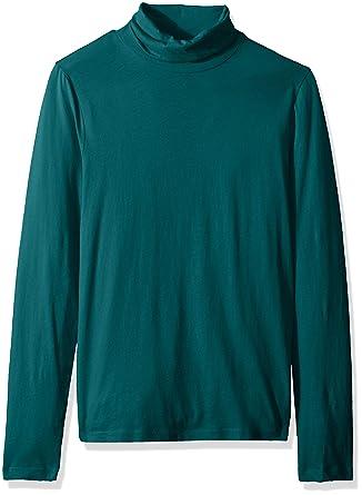 532d6e14ac J.Crew Mercantile Women's Solid Lightweight Turtleneck T-Shirt at Amazon  Women's Clothing store: