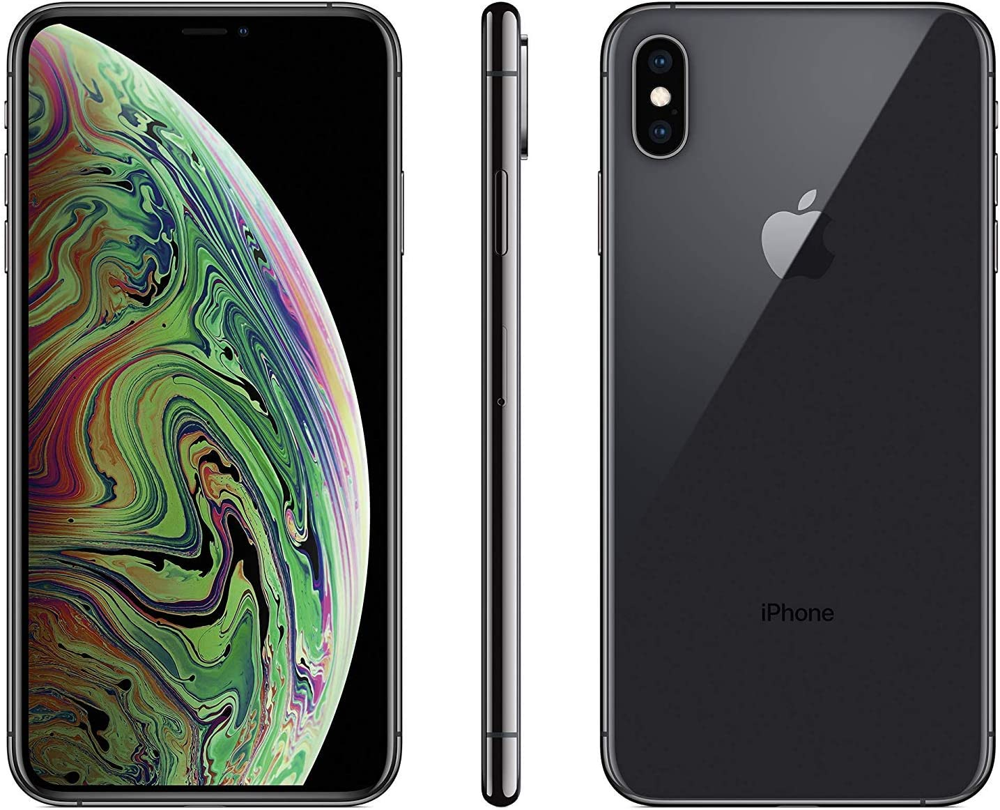 Apple iPhone XS Max, 64GB, Gray - For Sprint (Renewed)