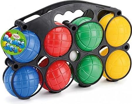 Jardín Juegos – juego de bolas de petanca para jugar en el jardín: Amazon.es: Hogar