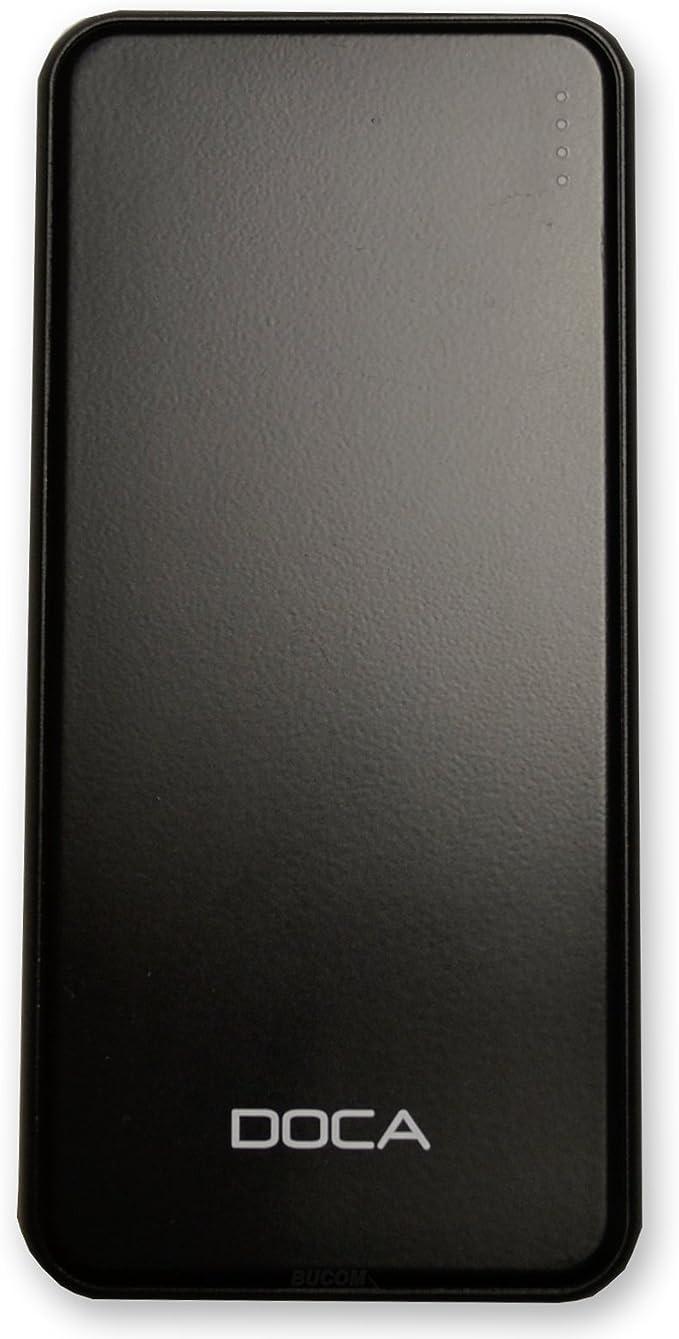 Doca Dual USB Power Bank Slim Design 5000 mAh batería externa para ...