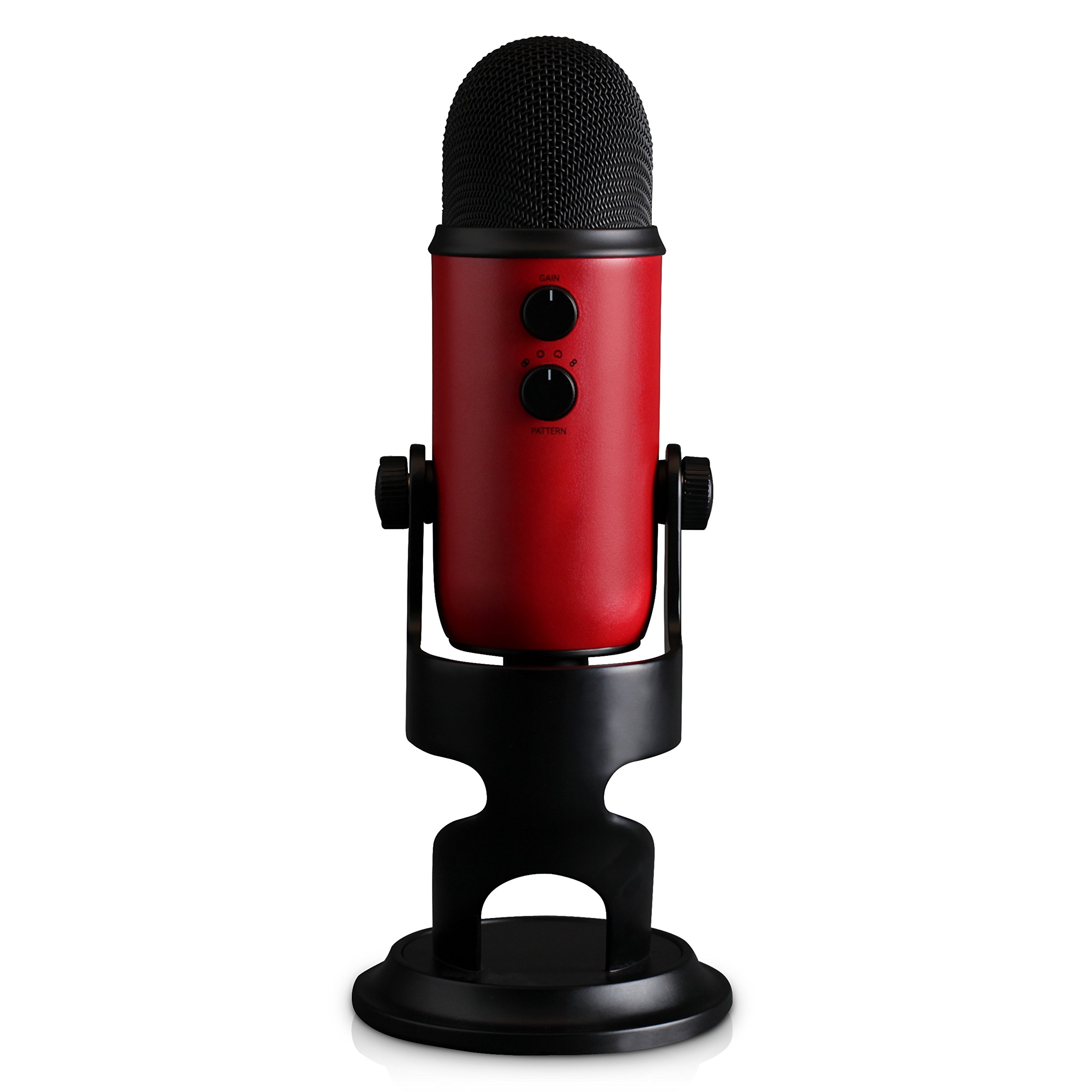 Blue Yeti USB Microphone - Satin Red by Blue (Image #5)