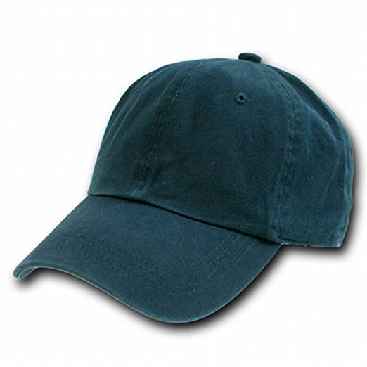 f985e96ec45bf Image Unavailable. Image not available for. Color  NAVY BLUE POLO STYLE  ADJUSTABLE UNSTRUCTURED LOW-PROFILE BASEBALL CAP ...