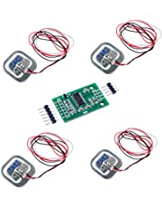 4pcs Báscula Humana Carga Cell Peso Sensor 50 KG Half-Bridge con Amplificador HX711 AD