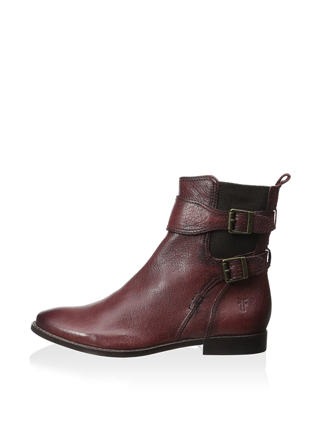 80d867023e09 Frye Women s Anna Gore Short Burnt Red Buffalo Leather Boot  Amazon.co.uk   Shoes   Bags