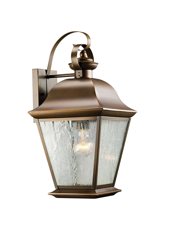Kichler 9709oz One Light Outdoor Wall Mount Wall Porch Lights Amazon Com