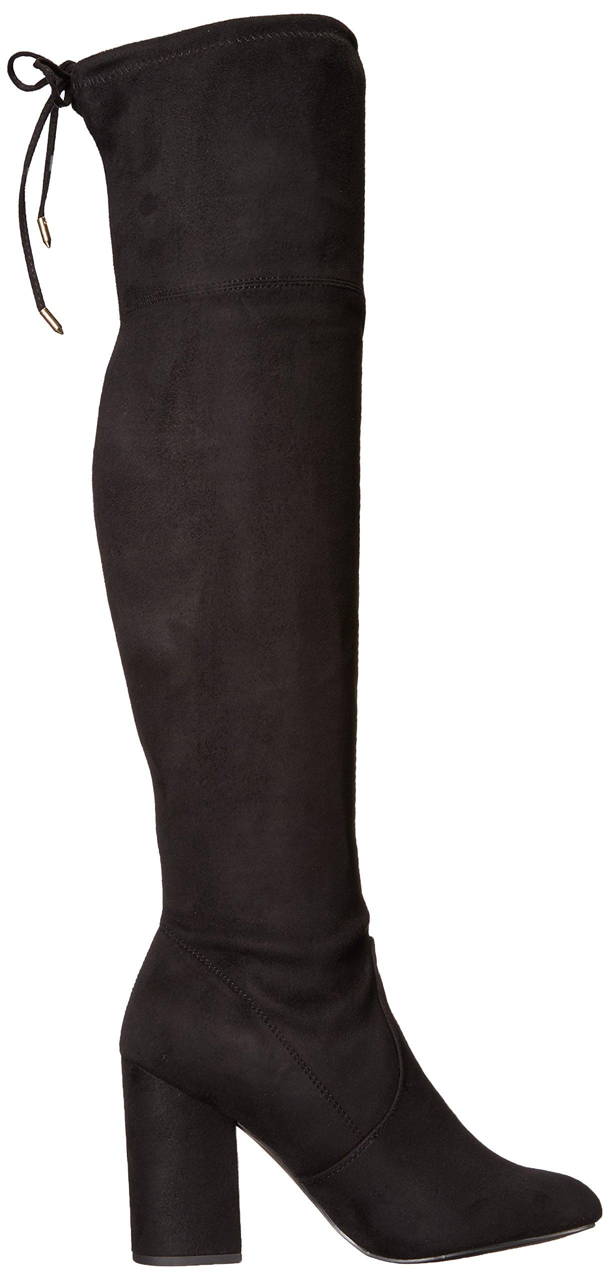 Steve Madden Women's Niela Over The Knee Boot, Black, 10 M US by Steve Madden (Image #7)