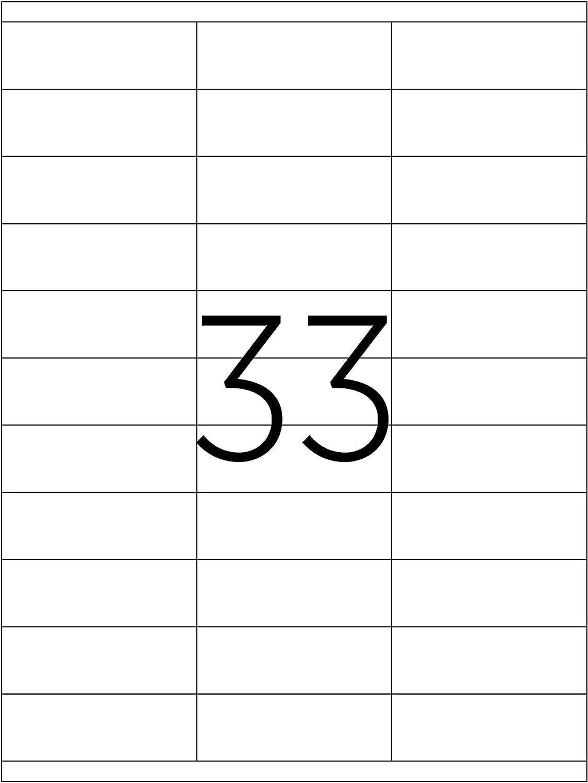 TANEX TW-2027 Adressetiketten 500 Blatt weiß 13500 Etiketten 70 x 32,125 mm