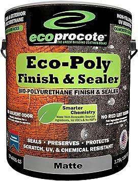 Eco-Poly Polyurethane Sealer & Floor Finish, Wood Floor