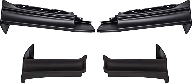 7BLACKSMITHS Bumper Fillers Set Fit for Buick Grand National T-Type-Regal 1981-1987 4Pcs