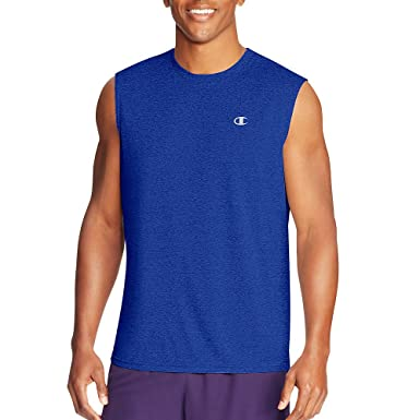 d3792e7fa0d4c Champion Vapor Menâ€s Heather Muscle Tee at Amazon Men s Clothing store
