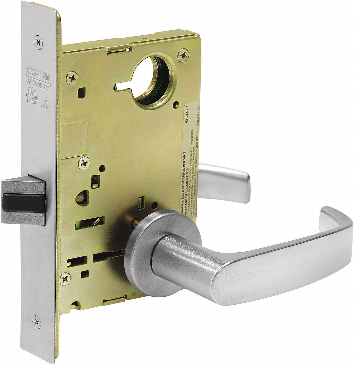 Lever Lockset,Mechanical,Passage,Grade 1