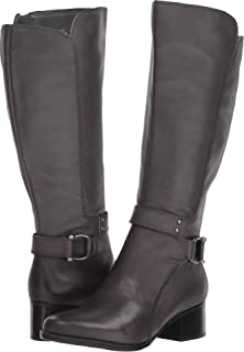 151346b6f37a Naturalizer Womens Leather Almond Toe Knee High Fashion Boots