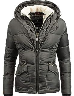 b3ae07245832 Marikoo Damen Winter-Jacke Steppjacke Lucy 11 Farben XS-XXL  Amazon ...