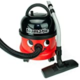 Numatic NRV200 Red Commercial Bagged Cylinder Vacuum Cleaner, Red