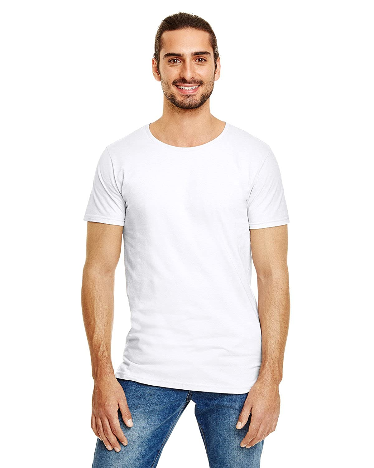 Clementine Adult Lightweight Long /& Lean Tee 5624 White 2XL