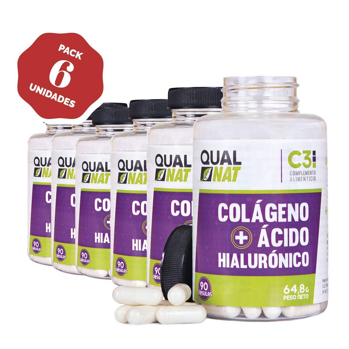 Colágeno con Ácido Hialurónico Cápsulas | Vitaminas C y Zinc ...