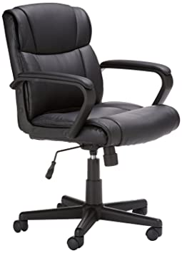 Review AmazonBasics Mid-Back Office Chair,