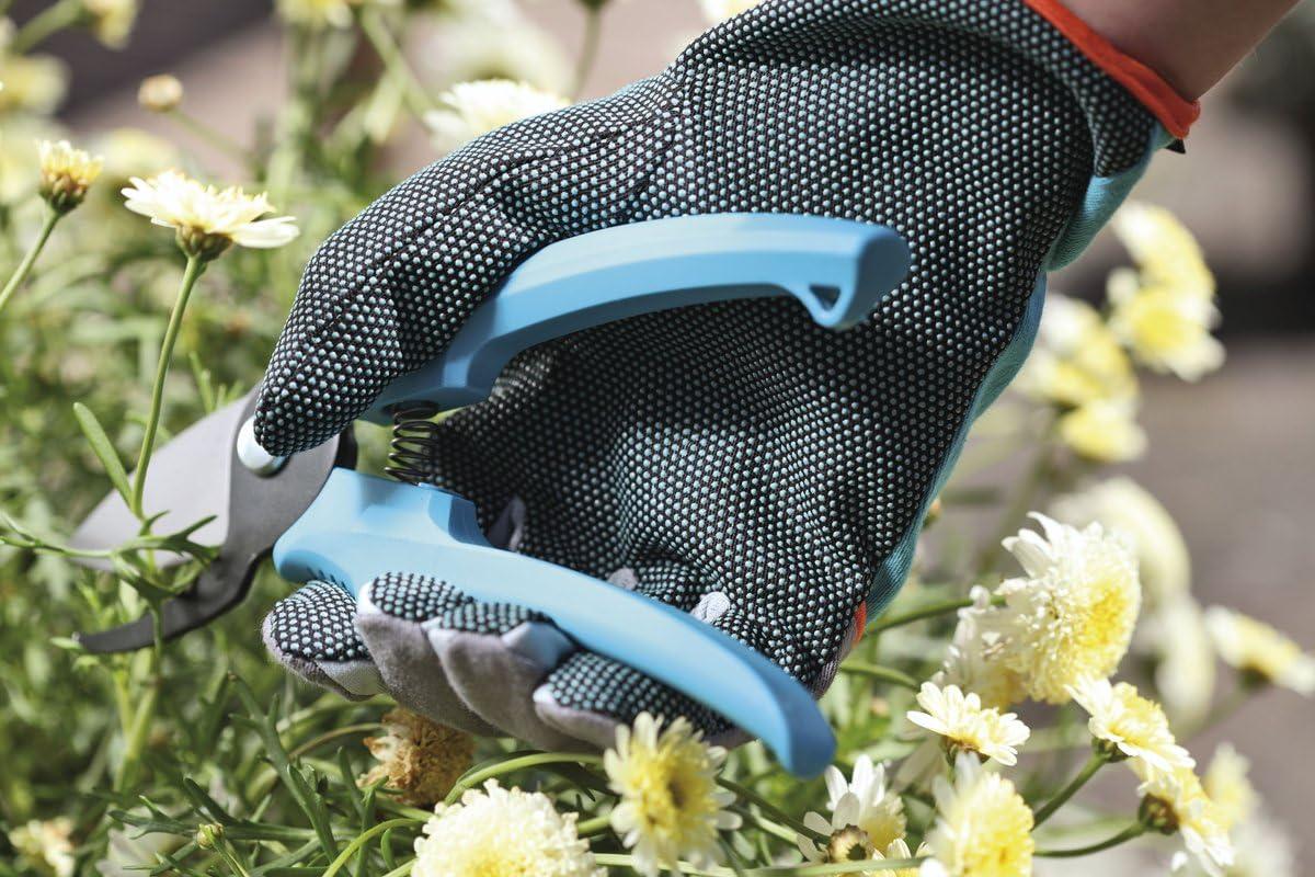 9//L Materiali Robusti per la Protezione delle Mani 218-20 Gardena Guanti da Giardino per Lavori su Arbusti e Piante Spinosi