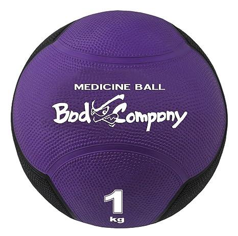 b92055faf4b7d Bad Company I Gummi Medizinball I Fitness Ball I Einzeln oder im Set I 1-