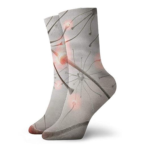 Womens Crew Socks Comfort Unique Workout Short Dress Socks