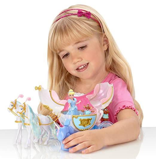Disney Princess R9590 La Carrozza Di Cenerentola Small Dolls ...