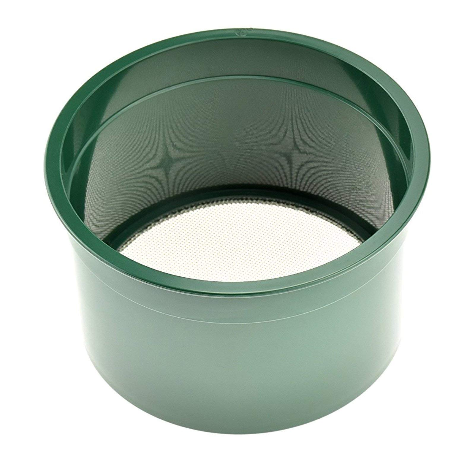 ASR Outdoor Gold Rush Sifting Classifier Sieve Mini 6 Inch Prospect Pan 20 Holes per Sq Inch by ASR Outdoor