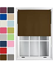 Furnished Blackout Roller Blind Made to Measure 14 Sizes 16 Colours