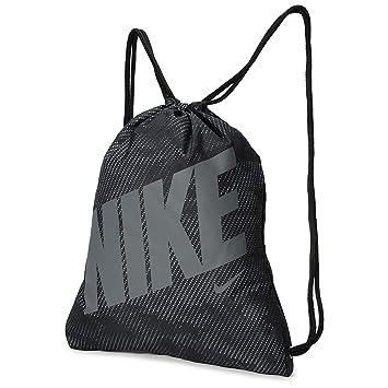Nike Ba5262-022 Bolsa de Cuerdas para el Gimnasio, Negro ...