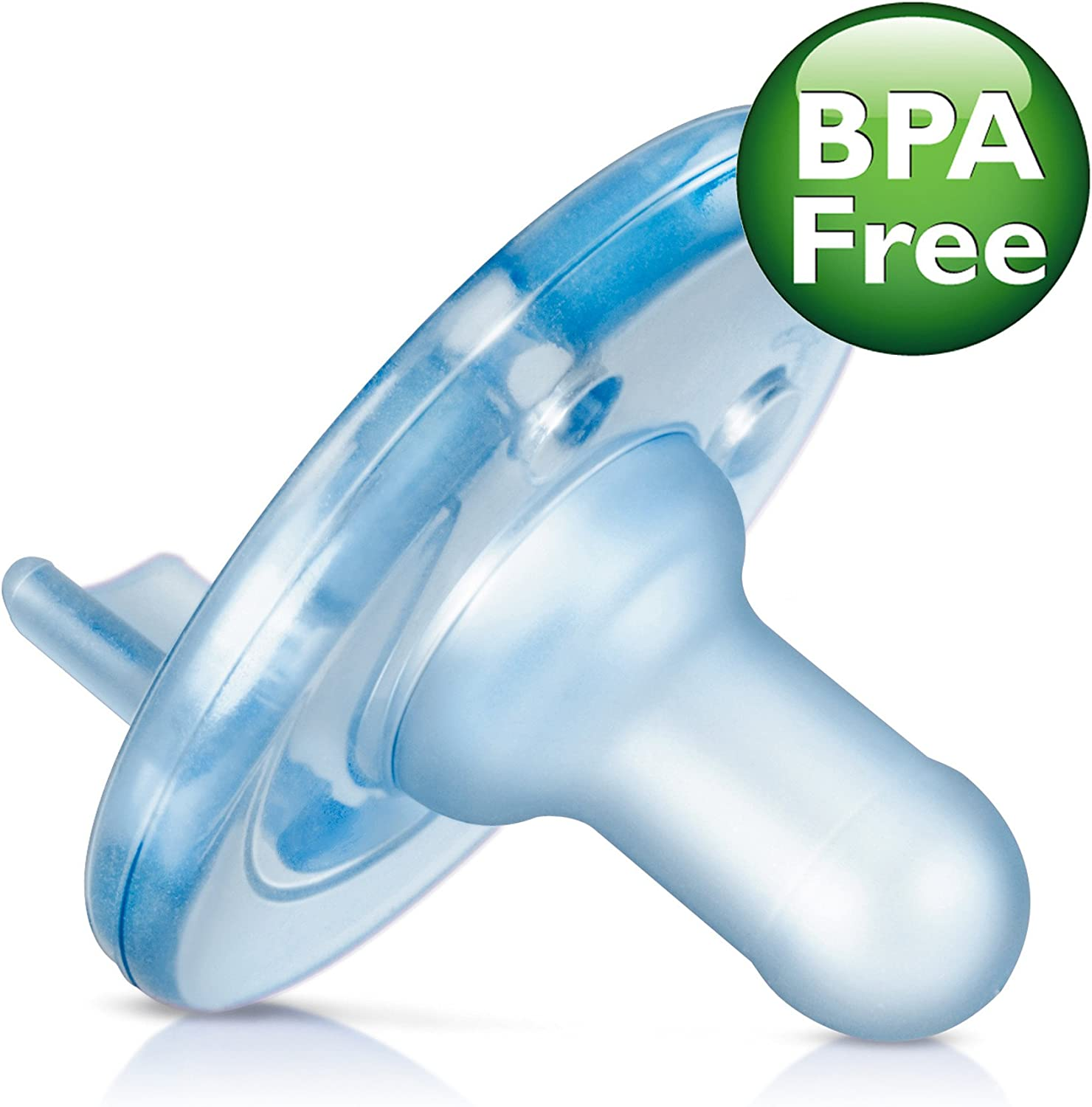 Blue//Blue 2 pack Philips Avent Soothie Pacifier 0-3m SCF190//03