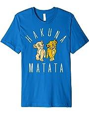 Disney Lion King Simba Nala Hakuna Matata Graphic T-Shirt