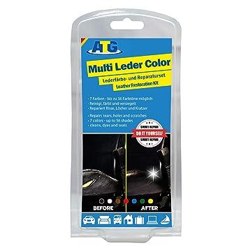 Brilliant Amazon Com Atg Leather Multicolor Restorer Repair Set Machost Co Dining Chair Design Ideas Machostcouk