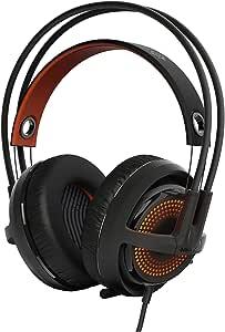 SteelSeries Siberia 350 Gaming Headset - Black (formerly Siberia v3 Prism) (Renewed)
