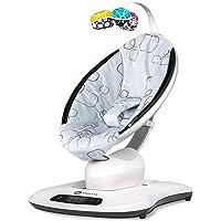 4moms mamaRoo 4.0 Baby Swing, Silver Plush (2000815)