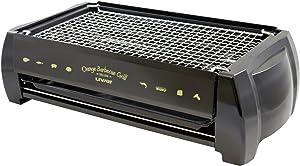 Livart Orange BBQ Deluxe Electric Barbecue Grill