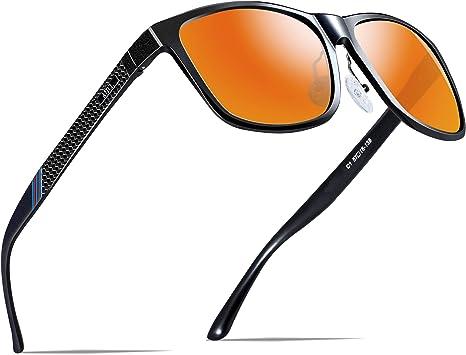ATTCL - Gafas de sol polarizadas para hombre, estilo retro, con ...