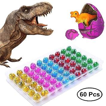 Amazon.com: Juguetes de dinosaurio, huevos de dinosaurio que ...
