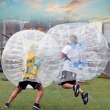 fanala 1,5 m burbuja balón de fútbol humanos aldaba hinchable ...