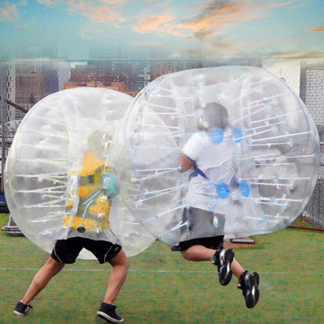 Fanala 1.5M Bubble Soccer Ball Human Knocker Inflatable Bumper Balls for Adults or Child