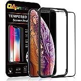 OAproda iPhone 11 Pro Max/iPhone Xs Max 全面保護フィルム 強化ガラス【ガイド枠付き/ケースに干渉しない】アイフォン11promax / Xs Max 用 フィルム