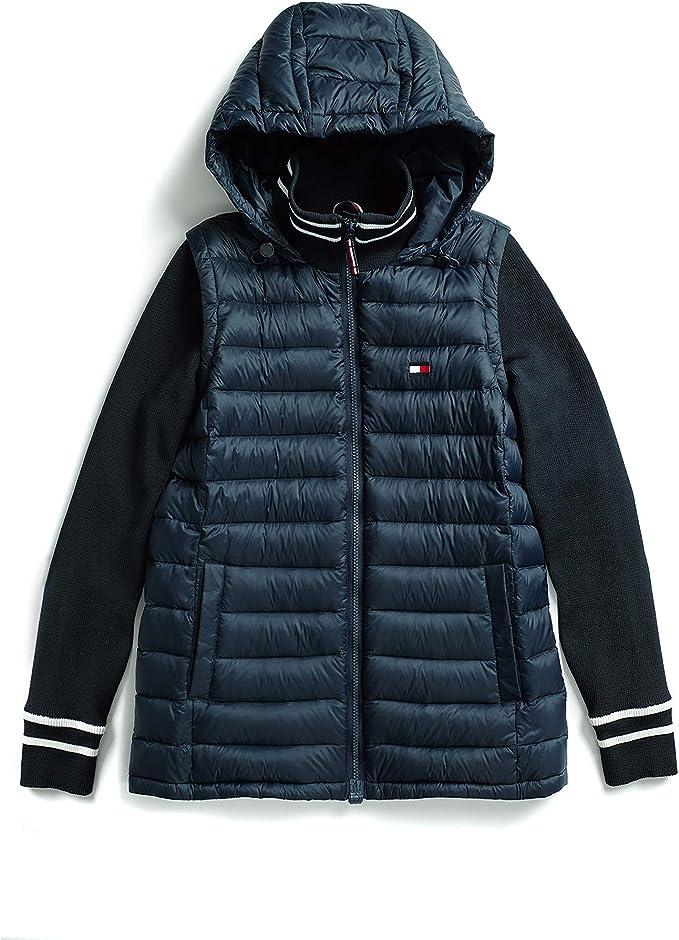 适合残障人士 Tommy Hilfiger 汤美费格 Adaptive系列 女式连帽保暖棉服夹克 S码2.8折$42.17 海淘转运到手约¥359