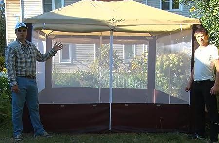 Resistente al agua toldo tienda de campaña 10 x 10 para para ...