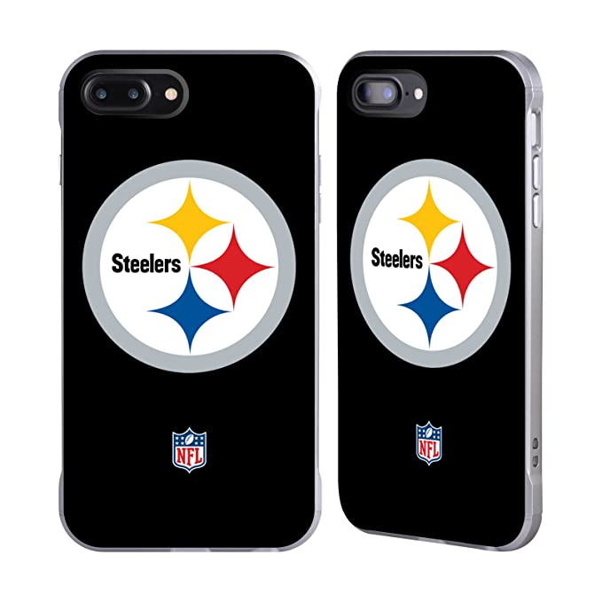 Amazon Official Nfl Plain Pittsburgh Steelers Logo Silver