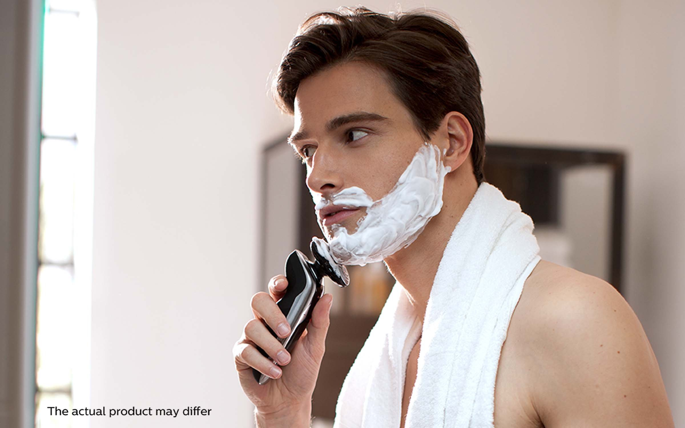 Philips Norelco Electric Shaver 9700, Cleansing Brush by Philips Norelco (Image #9)