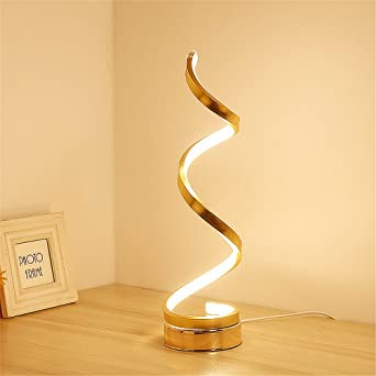 Parfaite De Led ChaudSmart Minimaliste12w Elinkume Blanc Modélisation TableBureau Acrylique Lampe LedDesign Moderne MSpzVU