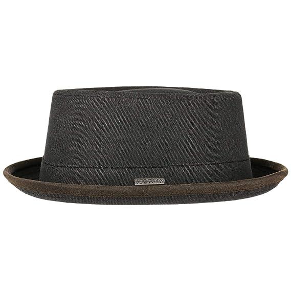 31951cea8 Stetson Canvas Pork Pie Hat Cloth Musician´s