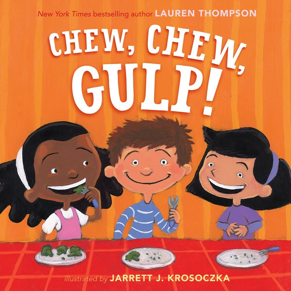 Image result for chew chew gulp book