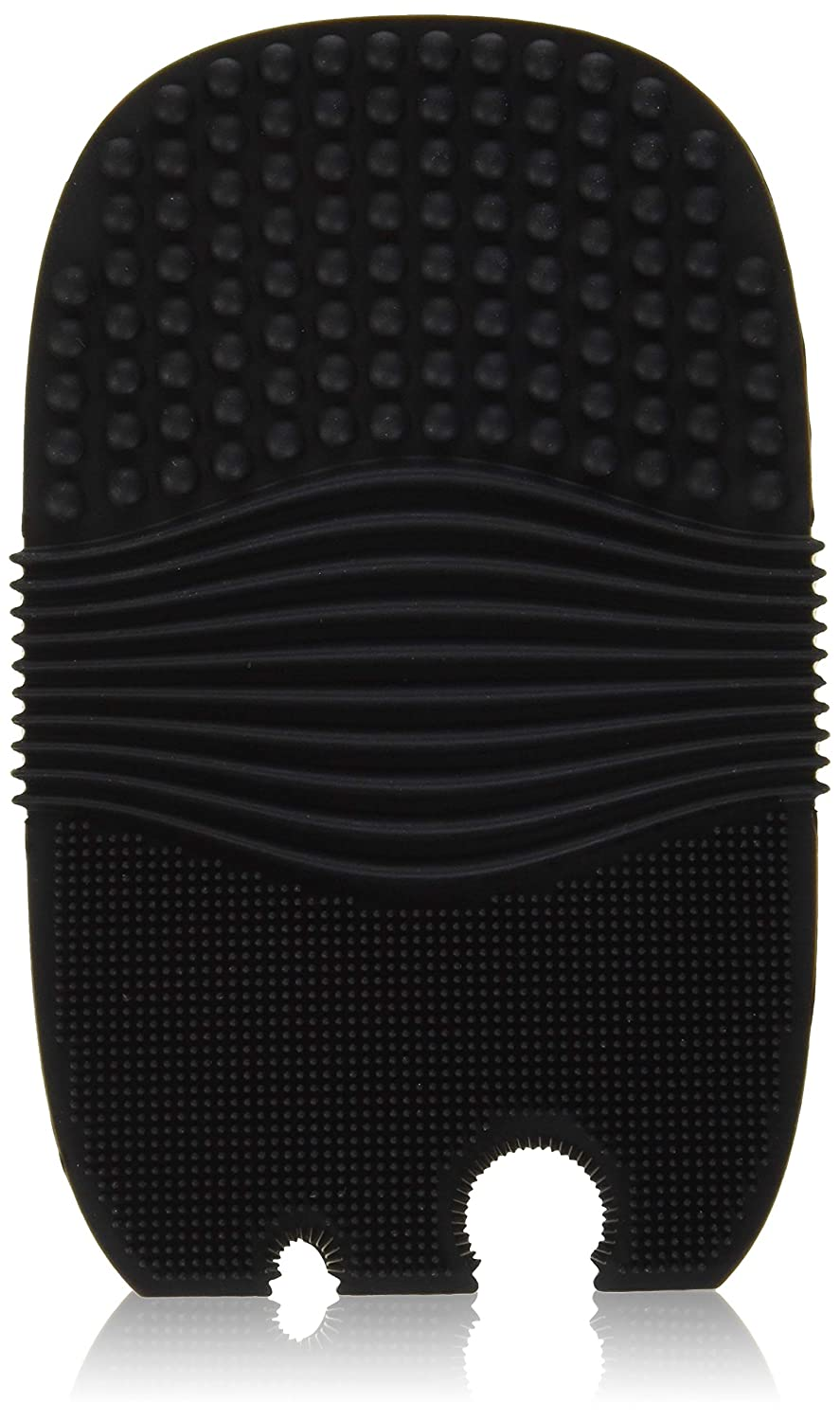 Elf Cosmetics Makeup Brush Cleaning Glove, Black, 5.3 Ounce