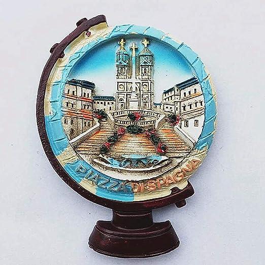 MUYU Magnet Imán para Nevera de Piazza di Spagna (Plaza de España ...