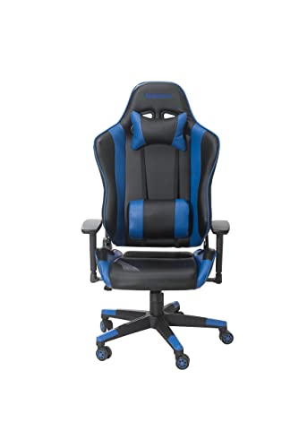 GameRider Navigator Gaming Chair, 27.56×27.56×54.33, Black Blue
